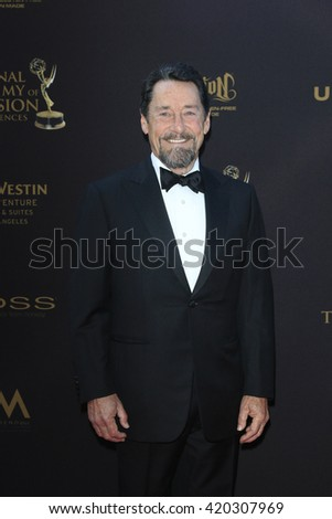 LOS ANGELES - APR 29: Peter Cullen at The 43rd Daytime Creative Arts Emmy Awards at the Westin Bonaventure Hotel on April 29, 2016 in Los Angeles, CA - stock photo
