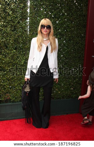 LOS ANGELES - APR 13:  Rachel Zoe at the John Varvatos 11th Annual Stuart House Benefit at  John Varvatos Boutique on April 13, 2014 in West Hollywood, CA - stock photo