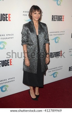 LOS ANGELES - APR 21:  Rashida Jones at the Annenberg Space for Photography presents REFUGEE at the Annenberg Space for Photography on April 21, 2016 in Century City, CA - stock photo