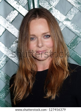 """LOS ANGELES - APR 13:  STELLA McCARTNEY arriving to """"My Valentine"""" World Premiere  on April 13, 2012 in Beverly Hills, CA - stock photo"""