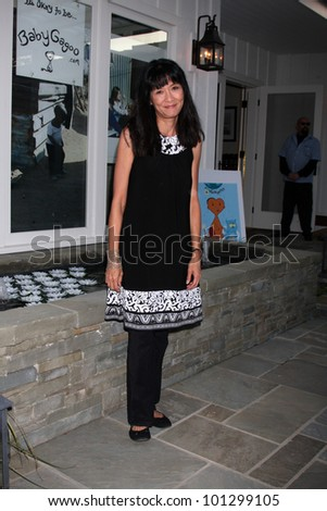 "LOS ANGELES - APR 28:  Suzanne Whang at the Launch of ""Baby Gagoo"" Clothing Line by Vanessa Marcil-Giovinazzo at private home on April 28, 2012 in Malibu, CA"