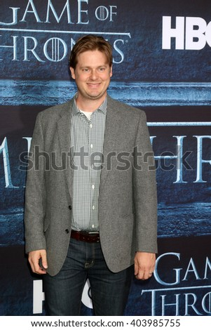 LOS ANGELES - APR 10:  Tim Heidecker at the Game of Thrones Season 6 Premiere Screening at the TCL Chinese Theater IMAX on April 10, 2016 in Los Angeles, CA - stock photo