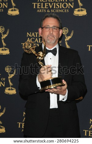LOS ANGELES - APR 24: Winner of Outstanding Directing in a Game Show at The 42nd Daytime Creative Arts Emmy Awards Gala at the Universal Hilton Hotel on April 24, 2015 in Los Angeles, California