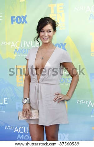 LOS ANGELES - AUG 7: Alexa Vega arrives at the 2011 Teen Choice Awards held at Gibson Amphitheatre on August 7, 2011 in Los Angeles, California