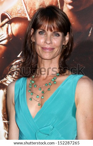 "LOS ANGELES - AUG 28:  Alexandra Paul at the ""Riddick"" Premiere at the Village Theater on August 28, 2013 in Westwood, CA"
