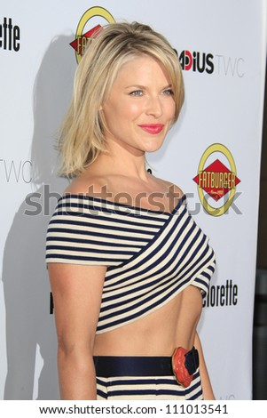 LOS ANGELES - AUG 23: Ali Larter at the premiere of RADiUS-TWC's 'Bachelorette' at ArcLight Cinemas on August 23, 2012 in Los Angeles, California - stock photo