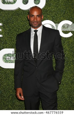LOS ANGELES - AUG 10:  Boris Kodjoe at the CBS, CW, Showtime Summer 2016 TCA Party at the Pacific Design Center on August 10, 2016 in West Hollywood, CA