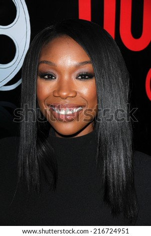 LOS ANGELES - AUG 2:  Brandy Norwood at the Staying Power: Building Legacy & Longevity in Hollywood at Montalban Theater on September 2, 2014 in Los Angeles, CA - stock photo