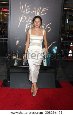 "LOS ANGELES - AUG 20:  Briana Evigan at the ""We are Your Friends"" Los Angeles Premiere at the TCL Chinese Theater on August 20, 2015 in Los Angeles, CA - stock photo"
