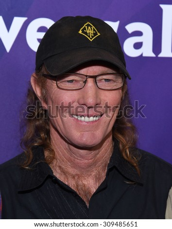 LOS ANGELES - AUG 12:  Butch Gilliam arrives to the arrives to the Summer 2015 TCA's - NBCUniversal  on August 12, 2015 in Beverly Hills, CA                 - stock photo