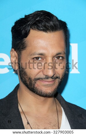 LOS ANGELES - AUG 12:  Cas Anvar at the NBCUniversal 2015 TCA Summer Press Tour at the Beverly Hilton Hotel on August 12, 2015 in Beverly Hills, CA