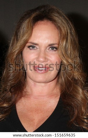 LOS ANGELES - AUG 24:  Catherine Bach at the Young & Restless Fan Club Dinner at the Universal Sheraton Hotel on August 24, 2013 in Los Angeles, CA