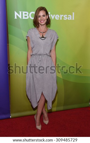 LOS ANGELES - AUG 12:  Daisy Betts arrives to the arrives to the Summer 2015 TCA's - NBCUniversal  on August 12, 2015 in Beverly Hills, CA                 - stock photo