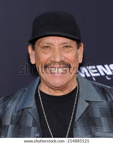 "LOS ANGELES - AUG 19:  Danny Trejo arrives to the ""Sin City: A Dame To Kill For"" Los Angeles Premiere  on August 19, 2014 in Hollywood, CA"