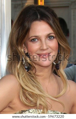"""LOS ANGELES - AUG 23:  Drew Barrymore arrives at the """"Going the Distance"""" Los Angeles Premiere at Grauman's Chinese Theater on August 23, 2010 in Los Angeles, CA - stock photo"""