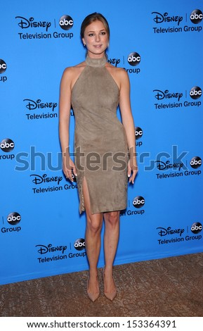 LOS ANGELES - AUG 04:  Emily VanCamp arrives to ABC All Star Summer TCA Party 2013  on August 04, 2013 in Beverly Hills, CA