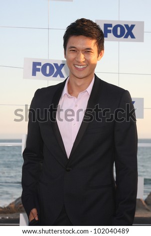 LOS ANGELES - AUG 5:  Harry Shum Jr. arriving at the FOX TCA Summer 2011 Party at Gladstones on August 5, 2011 in Santa Monica, CA - stock photo