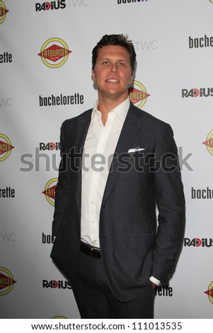 LOS ANGELES - AUG 23: Hayes MacArthur at the premiere of RADiUS-TWC's 'Bachelorette' at ArcLight Cinemas on August 23, 2012 in Los Angeles, California - stock photo