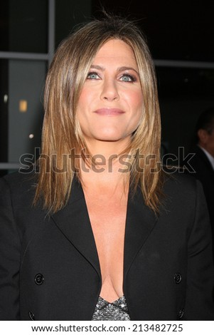 "LOS ANGELES - AUG 27:  Jennifer Aniston at the ""Life of Crime"" LA Premiere at ArcLight Hollywood Theaters on August 27, 2014 in Los Angeles, CA - stock photo"