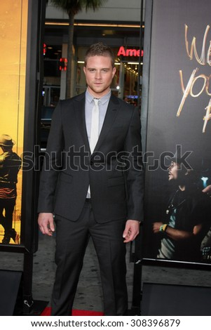 "LOS ANGELES - AUG 20:  Jonny Weston at the ""We are Your Friends"" Los Angeles Premiere at the TCL Chinese Theater on August 20, 2015 in Los Angeles, CA - stock photo"