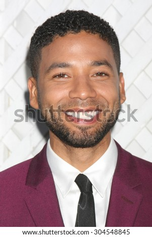 LOS ANGELES - AUG 8:  Jussie Smollett at the 17th Annual HollyRod Designcare Gala at the The Lot on August 8, 2015 in West Hollywood, CA - stock photo