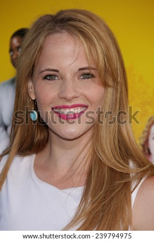 "LOS ANGELES - AUG 09:  KATIE LECLERC arrives to the ""The Help"" World Premiere  on August 09, 2011 in Beverly Hills, CA                 - stock photo"