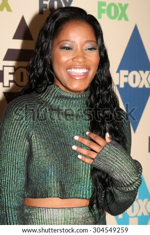 LOS ANGELES - AUG 6:  Keke Palmer at the FOX Summer TCA All-Star Party 2015 at the Soho House on August 6, 2015 in West Hollywood, CA - stock photo