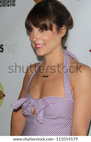 LOS ANGELES - AUG 23: Lindsay Sloane at the premiere of RADiUS-TWC's 'Bachelorette' at ArcLight Cinemas on August 23, 2012 in Los Angeles, California - stock photo
