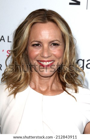 LOS ANGELES - AUG 23:  Maria Bello at the 3rd Annual Women Making History Brunch at Skirball Center on August 23, 2014 in Los Angeles, CA - stock photo