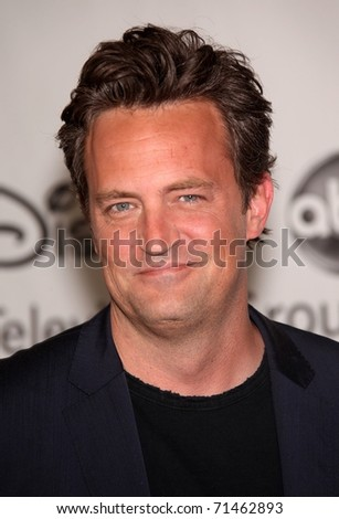 LOS ANGELES - AUG 01:  Matthew Perry arrives at the 2010 Breakthrough Awards on August 1, 2010 in Beverly Hills, CA - stock photo