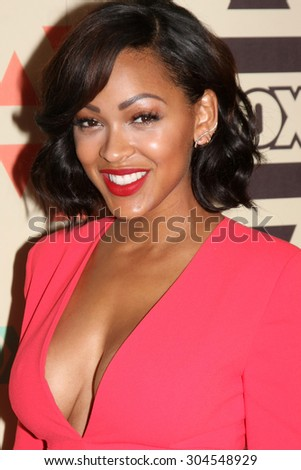 LOS ANGELES - AUG 6:  Megan Good at the FOX Summer TCA All-Star Party 2015 at the Soho House on August 6, 2015 in West Hollywood, CA - stock photo