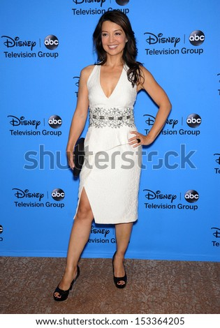 LOS ANGELES - AUG 04:  Ming-Na Wen arrives to ABC All Star Summer TCA Party 2013  on August 04, 2013 in Beverly Hills, CA