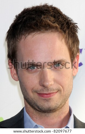 LOS ANGELES - AUG 1:  Patrick J. Adams arriving at the NBC TCA Summer 2011 Party at SLS Hotel on August 1, 2011 in Los Angeles, CA