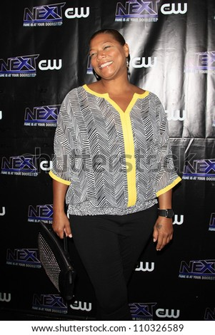 "LOS ANGELES - AUG 15: Queen Latifah at the CW ""The Next"" After Party at Perch on August 15, 2012 in Los Angeles, California"