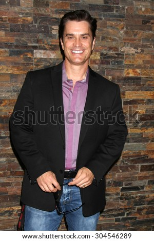 LOS ANGELES - AUG 8:  Rick Hearst at the General Hospital Fan Club Luncheon Arrivals at the Embassy Suites Hotel on August 8, 2015 in Glendale, CA