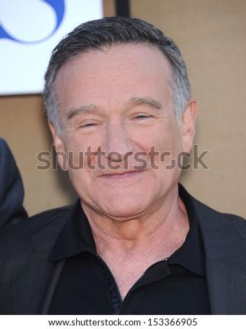 LOS ANGELES - AUG 04:  Robin Williams arrives to CBS Showtime CW All Star Winter TCA Party 2013  on July 29, 2013 in Beverly Hills, CA
