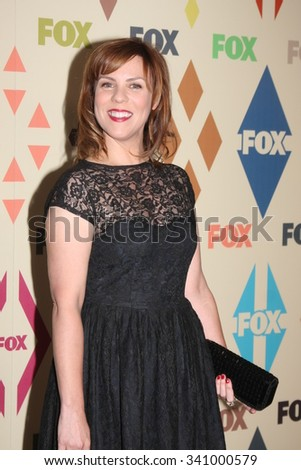 LOS ANGELES - AUG 6:  Sarah Burns at the FOX TCA Summer 2015 All-Star Party at the Soho House on August 6, 2015 in West Hollywood, CA - stock photo