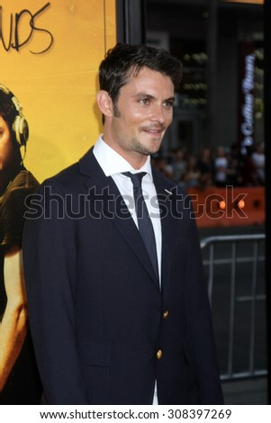 "LOS ANGELES - AUG 20:  Shiloh Fernandez at the ""We are Your Friends"" Los Angeles Premiere at the TCL Chinese Theater on August 20, 2015 in Los Angeles, CA - stock photo"