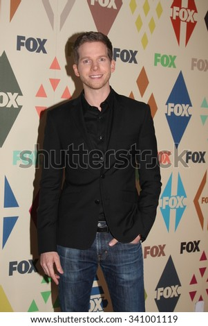 LOS ANGELES - AUG 6:  Stark Sands at the FOX TCA Summer 2015 All-Star Party at the Soho House on August 6, 2015 in West Hollywood, CA - stock photo