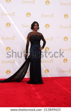 LOS ANGELES - AUG 25:  Sufe Bradshaw at the 2014 Primetime Emmy Awards - Arrivals at Nokia at LA Live on August 25, 2014 in Los Angeles, CA - stock photo
