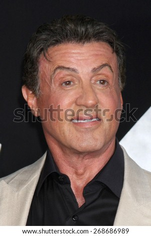 "LOS ANGELES - AUG 11:  Sylvester Stallone at the ""Expendables 3"" Premiere at TCL Chinese Theater on August 11, 2014 in Los Angeles, CA