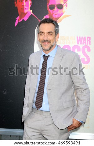 "LOS ANGELES - AUG 15:  Todd Phillips at the War Dogs"" Premiere at the TCL Chinese Theater IMAX on August 15, 2016 in Los Angeles, CA"