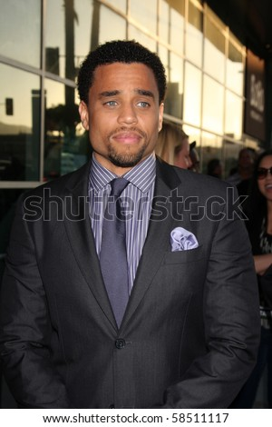 "LOS ANGELES - AUGUST 4:  Michael Ealy. arrives at the ""Takers"" World Premiere at ArcLight Cinerama Dome Theater on August 4, 2010 in Los Angeles, CA"