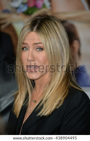 """LOS ANGELES, CA. April 13, 2016: Actress Jennifer Aniston at the world premiere of """"Mother's Day"""" at the TCL Chinese Theatre, Hollywood. - stock photo"""