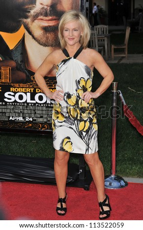 LOS ANGELES, CA - APRIL 20, 2009: Rachel Harris at the Los Angeles premiere of The Soloist at Paramount Theatre, Hollywood.