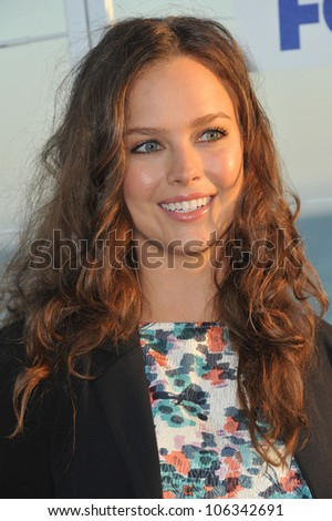 LOS ANGELES, CA - AUGUST 5, 2011: Allison Miller at the Fox TV Summer 2011 All-Star Party at Gladstones Restaurant, Malibu. August 5, 2011  Malibu, CA