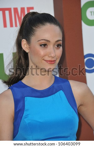 Los Angeles Ca August 3 2011 Emmy Rossum Star Of