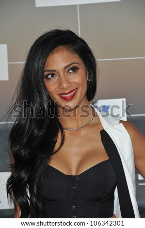 LOS ANGELES, CA - AUGUST 5, 2011: Nicole Scherzinger at the Fox TV Summer 2011 All-Star Party at Gladstones Restaurant, Malibu. August 5, 2011  Malibu, CA - stock photo