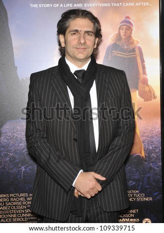 "LOS ANGELES, CA - DECEMBER 7, 2009: Michael Imperioli at the Los Angeles premier of his new movie ""The Lovely Bones"" at Grauman's Chinese Theatre, Hollywood."