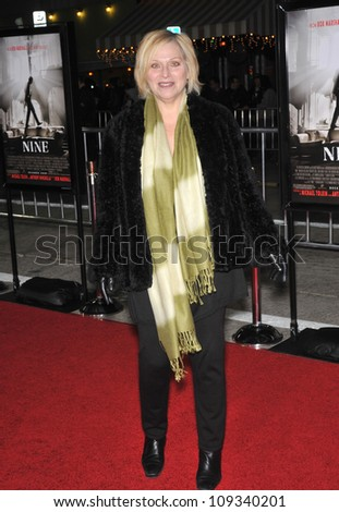 "LOS ANGELES, CA - DECEMBER 9, 2009: Rosalind Kind at the Los Angeles premiere of ""Nine"" at the Mann Village Theatre, Westwood."